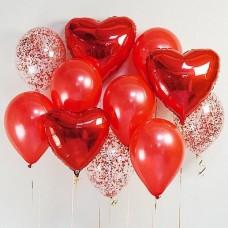 """Сет из воздушных шаров """"С Любовью!"""""""