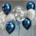 """Набор из воздушных шаров """"Для Него"""" Пример №13"""