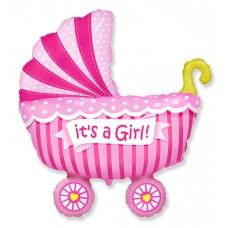 Коляска Это девочка / Baby buggy girl