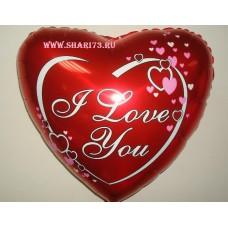 """""""Сердце Любовь красное"""""""