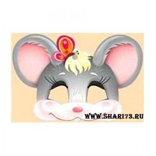 Детская маска мышки своими руками 142