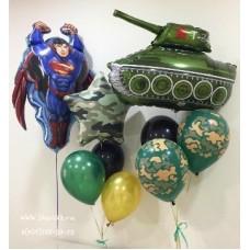 """Набор из воздушных шаров """"Для Супергероя"""""""